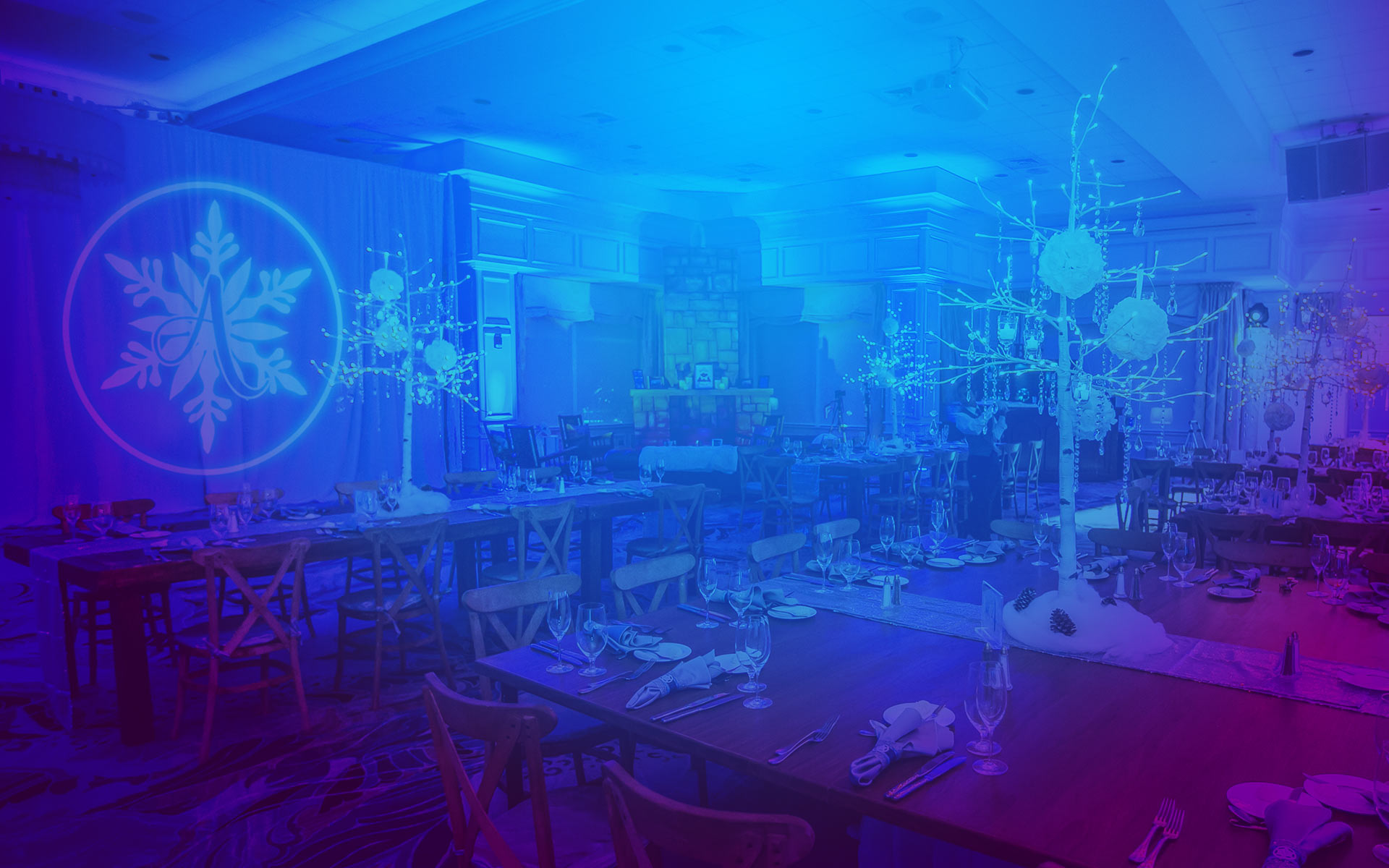 Bar mitzvah decor south florida mitzvah production by 84 west events - Creative Event Branding Design